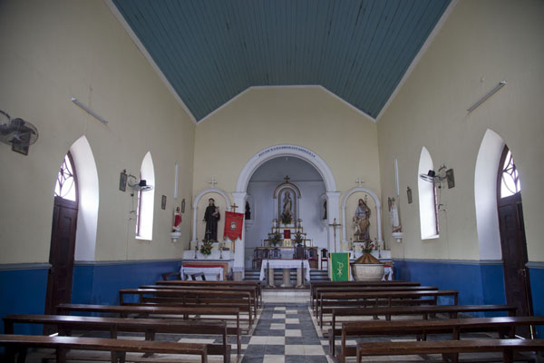 Interior of the Nossa Senhora da Conceição church of Santo Antonio | Santo Antonio | São Tomé and Príncipe