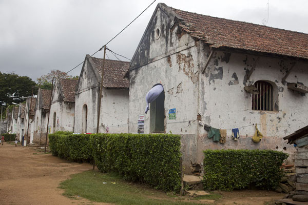 Picture of Sundy (São Tomé and Príncipe): Old plantation buildings at Sundy