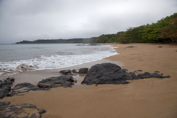 Picture of Sundy (São Tomé and Príncipe): A beautiful beach can be found close to Sundy