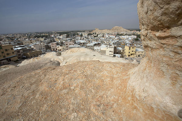 Foto van View from the top of Al Qara mountainAl Hofuf - Saoedi Arabië