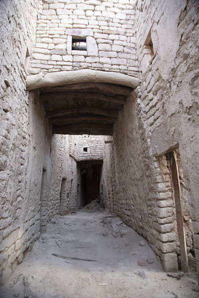Street in the old town of Al Ula | Al Ula old town | 沙乌地阿拉伯