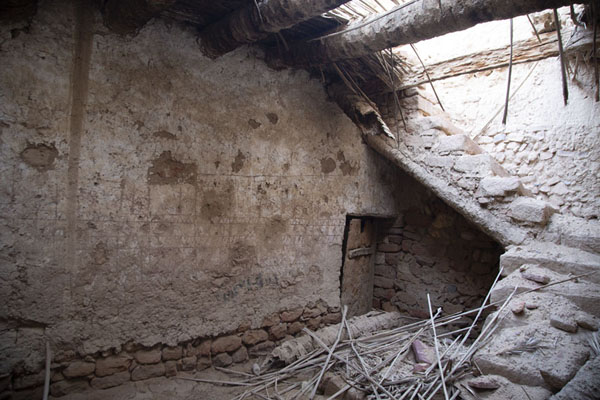 Crumbling house in the old town of Al Ula | Al Ula old town | 沙乌地阿拉伯