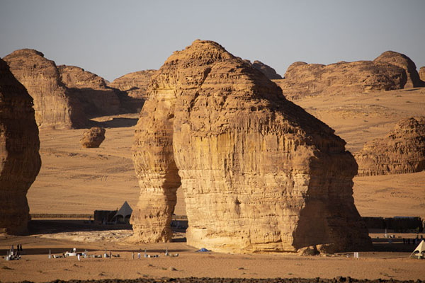 Elephant Rock in the afternoon | Al Ula rock formations | Saudi Arabia