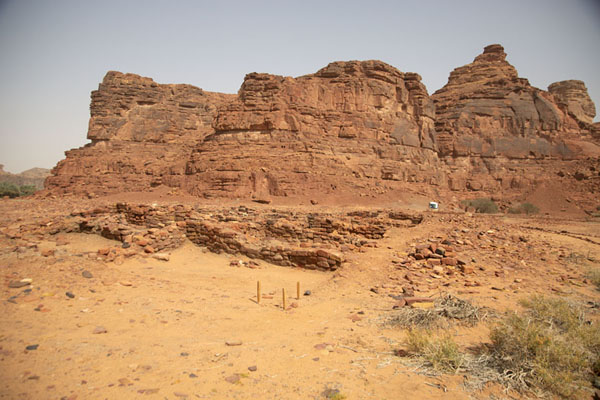Picture of Jebel Khuraybah, the seat of DadanDadan - Saudi Arabia
