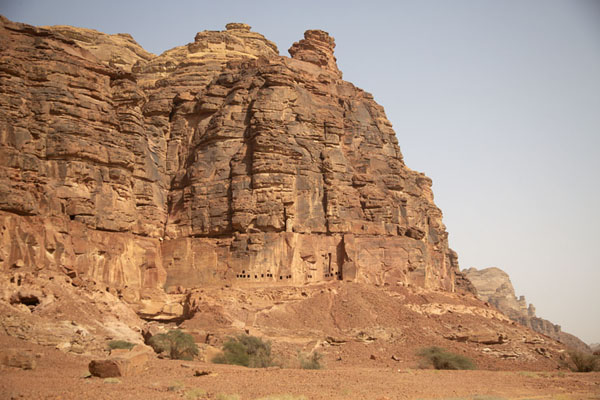 Picture of Dadan was built at the foot of Jebel Khuraybah