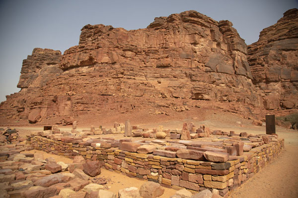 Platform of the ancient trade city of Dadan | Dadan | Saudi Arabia