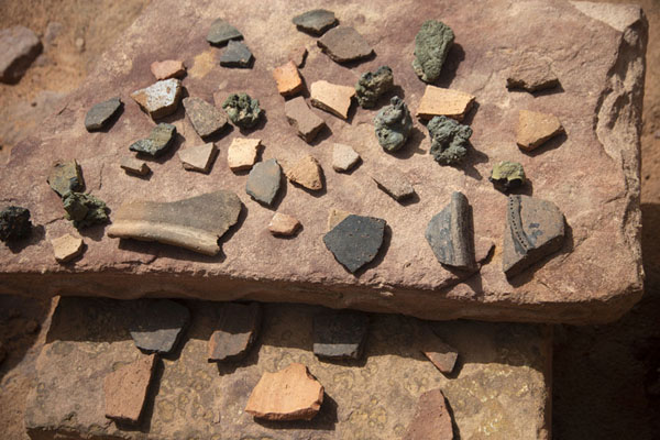 Some of the artefacts found at Dadan | Dadan | Arabia Saudita