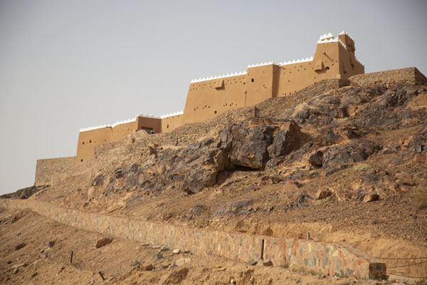 Total view of Barzan Castle | Hail forten | Saoedi Arabië