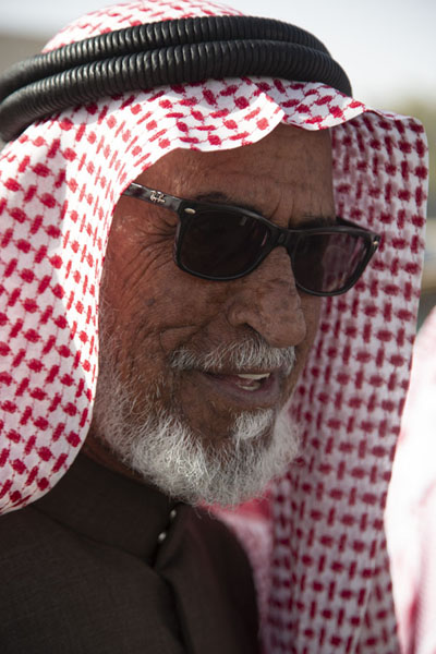 One of the many customers at the Friday Market | Hail Friday Market | Saudi Arabia