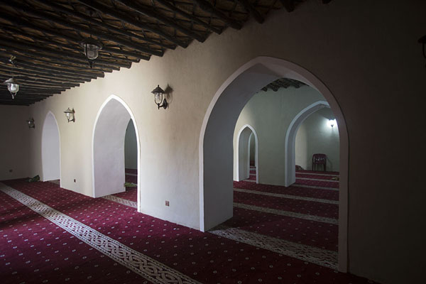 The interior of Jawatha mosque | Jawatha mosque | Saudi Arabia