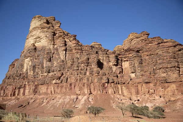 Foto van Rock formations near Mushroom RockAbu Rakah - Saoedi Arabië