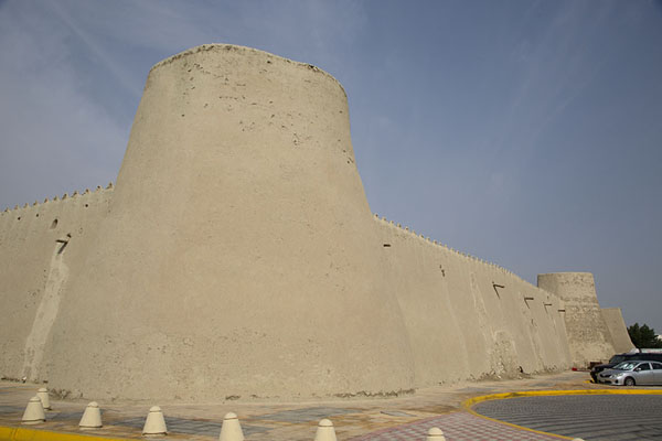 Foto van View from the southeastern corner of Qasr IbrahimAl Hofuf - Saoedi Arabië