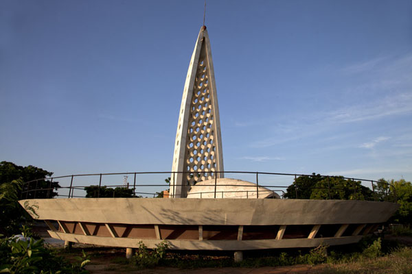 Picture of Senegal (The Memorial Gorée-Almadies, on top of le Castel, dedicated to the African diaspora)