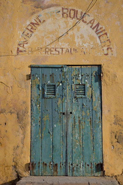 Door of a restaurant on Gorée island | Ile de Gorée | Senegal