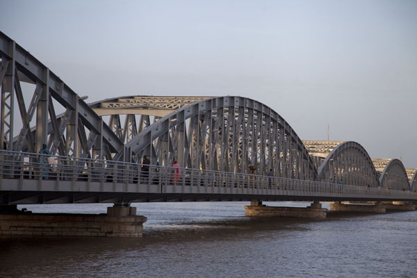 Picture of The Faidherbe bridge linking the island of Saint Louis with the mainlandSaint Louis - Senegal