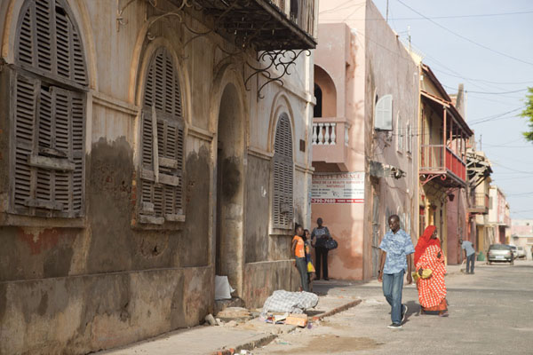 Picture of Street in Saint LouisSaint Louis - Senegal