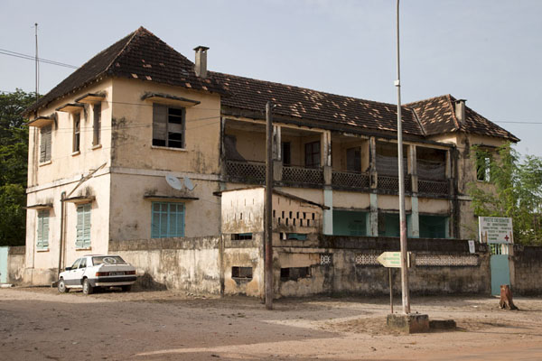 Clinic in one of the monumental buildings of the city | Ziguinchor | Senegal
