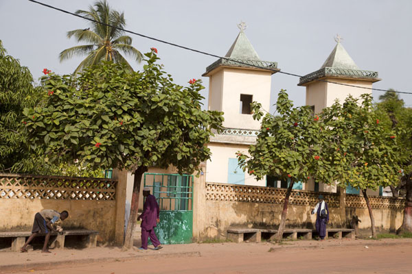 Picture of Small mosque in ZiguinchorZiguinchor - Senegal