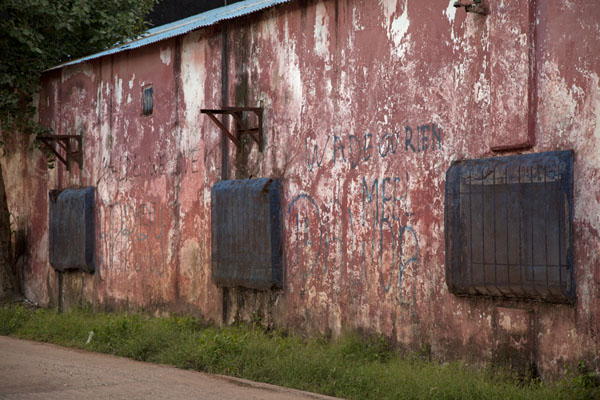 Picture of Wall of an old buildingZiguinchor - Senegal
