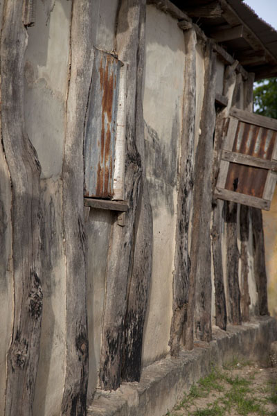 Picture of One of the small houses on the riverbank of the Casamance riverZiguinchor - Senegal
