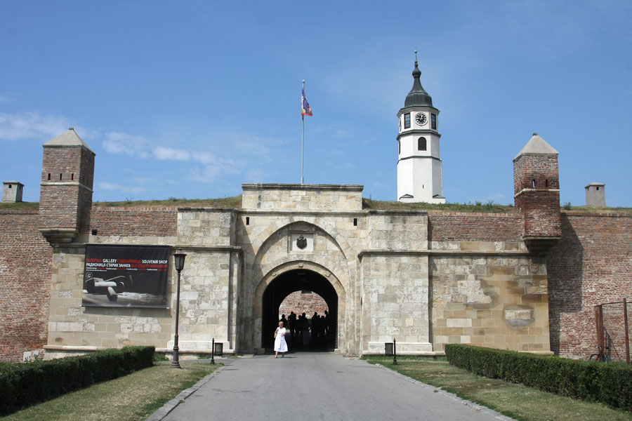 Clock tower and Stambol Gate | Kalemegdan | Serbia