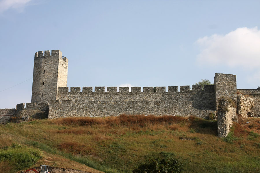 Walls of Kalemegdan seen from below | Kalemegdan | Serbia