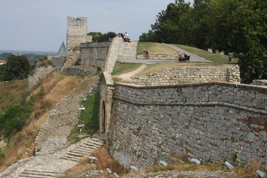 Walls of Belgrade fortress | Kalemegdan | Serbia
