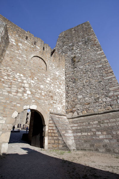 Picture of Smederevo Fortress (Serbia): Gate giving access to the inner city of the fortress