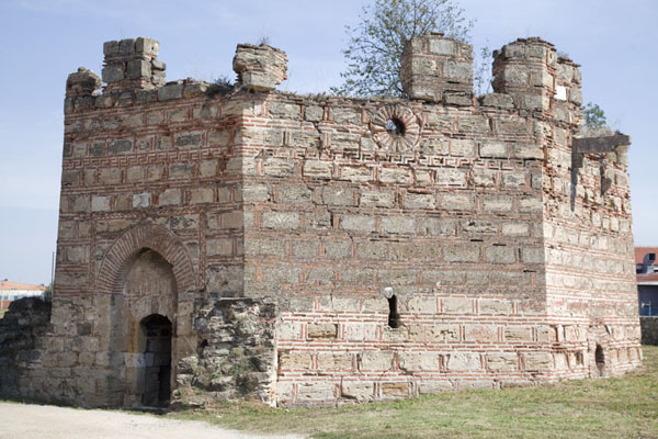 Picture of Smederevo Fortress (Serbia): The Turkish inscription tower, located outside the fortress