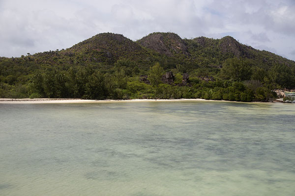 Picture of Curieuse island (Seychelles): Bay and beach at the east side of Curieuse