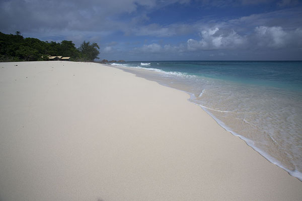 Picture of Seychelles beaches (Seychelles): Empty tropical beach at Anse Major, Mahe Island