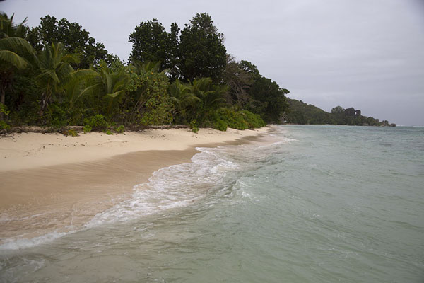 Picture of Dark skies over Anse Source d'Argent, La DigueSeychelles - Seychelles
