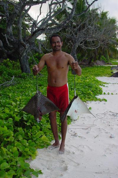 Proud of his catch | Seychelles Fishing | Seychelles