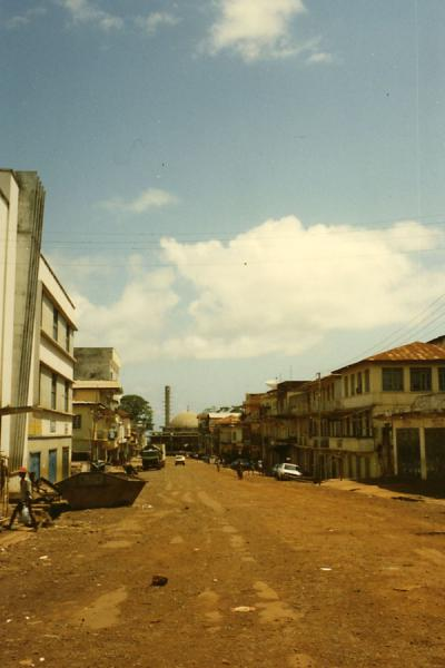 Picture of Street in FreetownFreetown - Sierra Leone