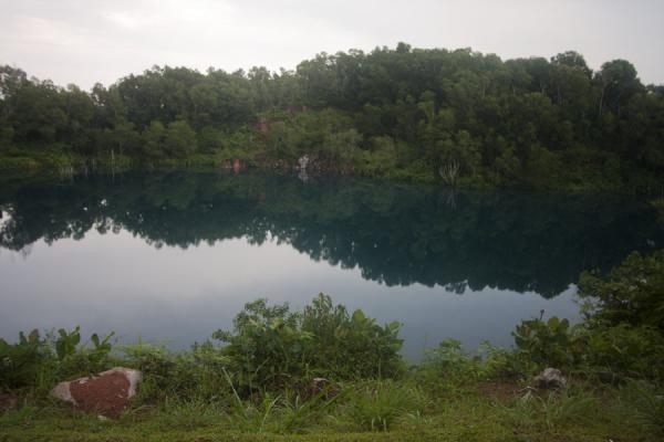 One of the abandoned quarry lakes on Pulau Ubin | Pulau Ubin | Singapore