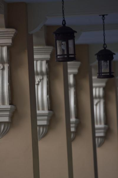 Picture of Row of columns and lanterns in Peranakan houseSingapore - Singapore
