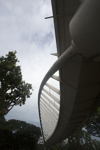 Alexandra Arch seen from street level | Southern ridges | Singapore