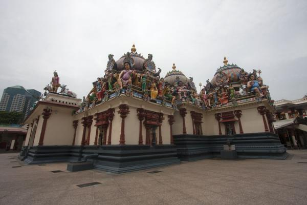 Part of  Sri Mariamman temple | Templo de Sri Mariamman | Singapur