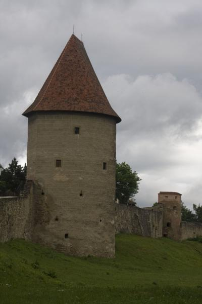 One of the towers on the old city walls of Bardejov | Bardejov Old Town | Slovakia