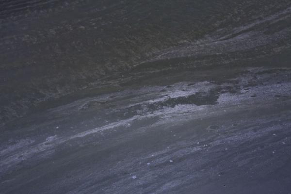 Picture of Detail of the ice floor of the Dobinska Ice Cave
