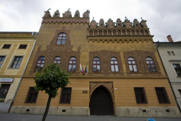 The most remarkable house on Master Pavol square: Thurzov House | Levoča Old Town | Slovakia