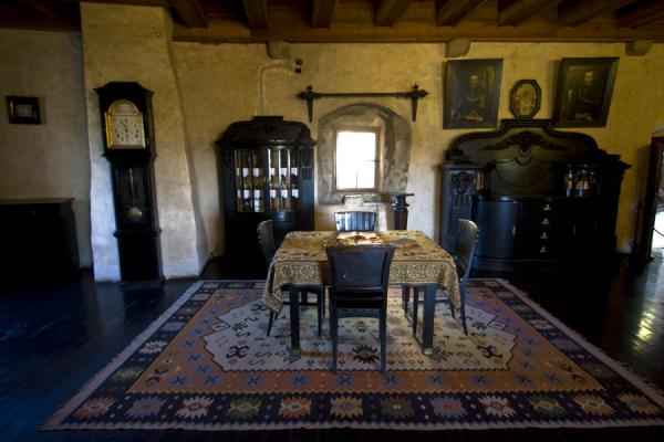 One of the many rooms of the castle, completely furnished and styled medieval-way | Orava Castle | Slovakia