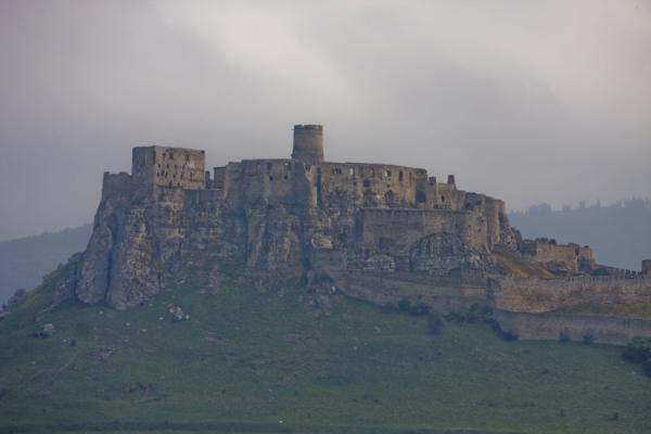The contours of Spiš Castle dominating the surrounding area | Spiš Castle | Slovakia