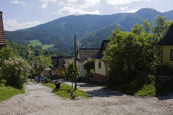 Main street of Vlkolínec | Vlkolínec | Slovakia