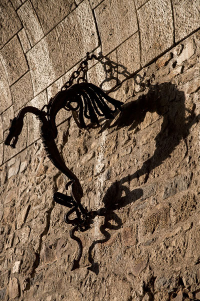 Picture of Ljubljana Old Town (Slovenia): Dragon on the wall at the entrance to Ljubljana Castle
