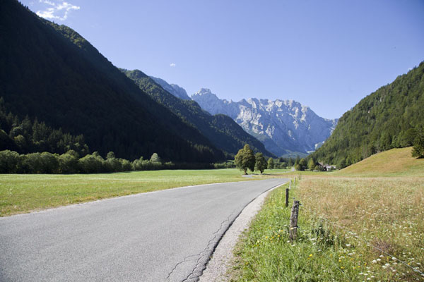 Looking into Logarska Dolina from the north entrance | Logarska Dolina | Slovenia