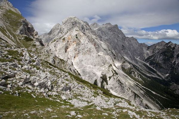 View of the mountains at the south of Logarska Dolina | Logarska Dolina | Slovenia