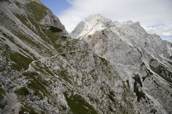 Picture of Trail in the mountains of Logarska Dolina