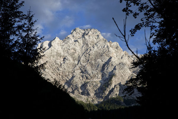 The massif of Ojstrica in the morning | Logarska Dolina | Slovenia