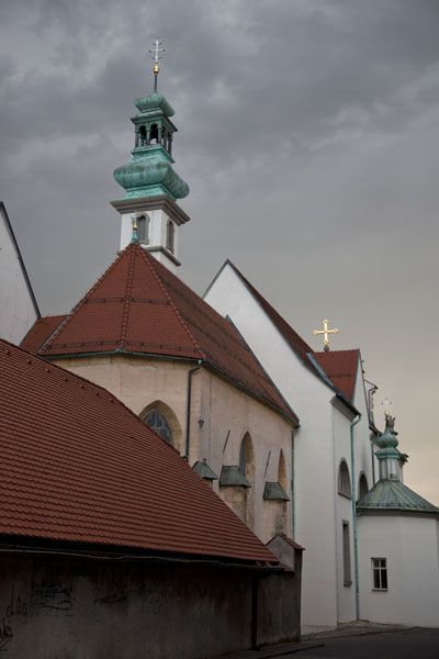 The rebuilt Church of Sts. Peter and Paul in the old town of Ptuj | Ptuj | Slovenia